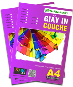 Giấy in Namecard sọc A4