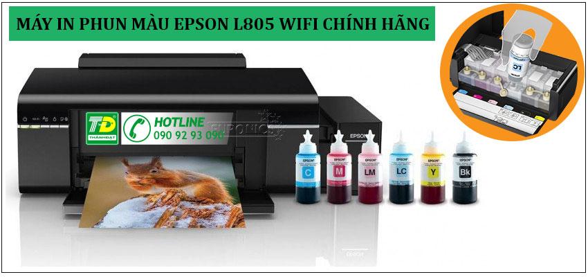 Máy in Epson L805 Wifi