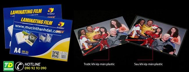 Màng ép plastic A4 chất lượng