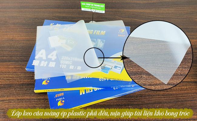 Bìa ép plastic A4 giá rẻ
