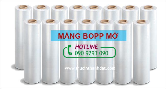 Màng Bopp Mờ