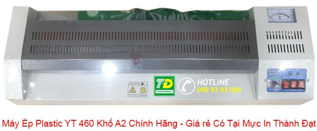 Đừng bỏ qua ưu điểm của Máy Ép Plastic YT 460 Khổ A2