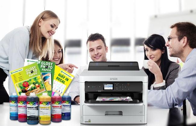 Mực in Pigment UV giá rẻ
