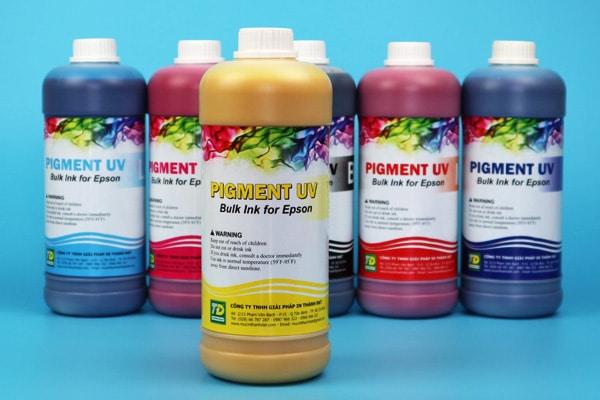 Mực dầu Pigment UV Thành Đạt