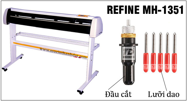Máy Cắt Bế Decal Refine AH 1350 Khổ 1m2