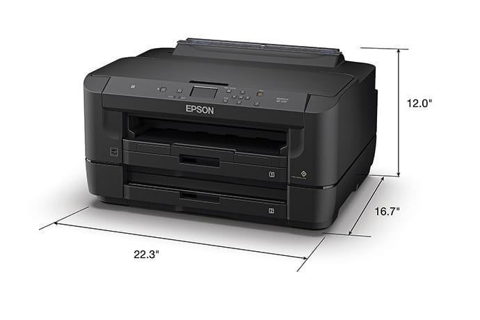 Máy In Epson WorkForce WF-7210 khổ A3, In 2 mặt tự động