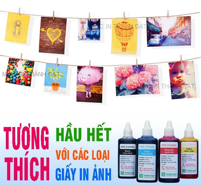 Mực In Dye UV Canon 100ml - Giá Tốt tại Thành Đạt