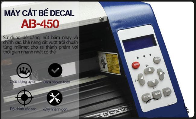 Máy Cắt Bế Decal A3 AB-450 chính hãng, siêu rẻ
