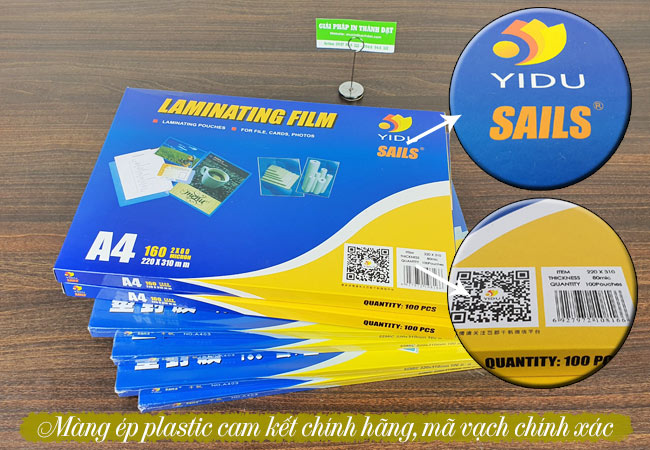 Thành Đạt cung cấp đa dạng các loại màng ép plastic chính hãng