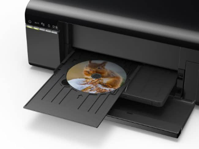 Người dùng có thể in trực tiếp lên mặt đĩa CD/DVD