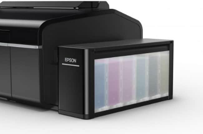 Hệ thống mực in 6 màu của Epson l805