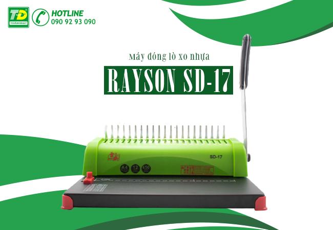Máy Đóng Lò Xo Nhựa Rayson SD-17