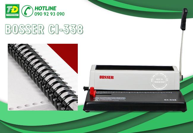 Máy Đóng Lò Xo Nhựa Xoắn Ốc Bosser CI-338