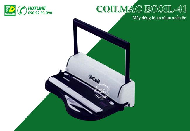 Máy Đóng Lò Xo Nhựa Xoắn Ốc COILMAC ECOIL-41