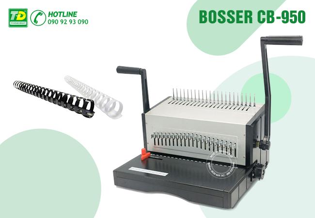 Máy Đóng Lò Xo Nhựa Bosser CB-950