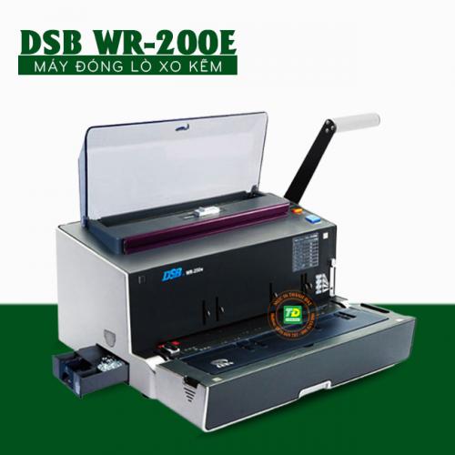 Máy Đóng Sách Gáy Xoắn Kẽm DSB WR-200E