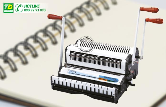 máy đóng lò xo kẽm Wiremac-Duo