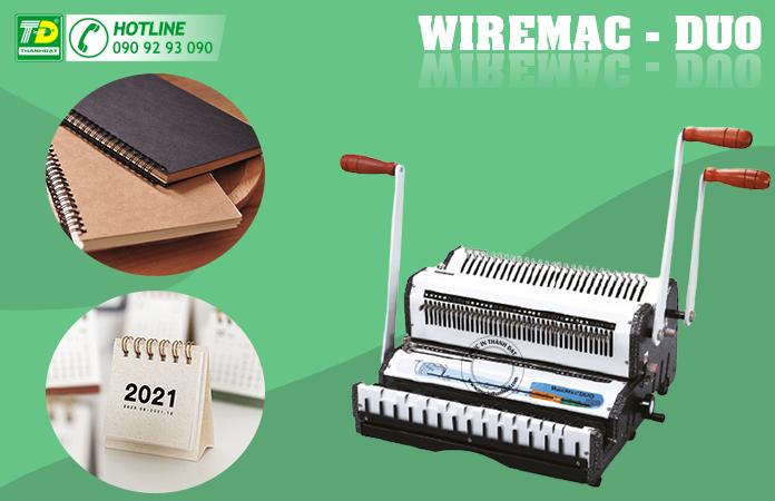 Máy Đóng Lò Xo Kẽm Wiremac - Duo