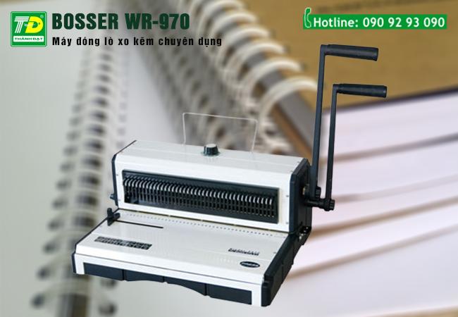Máy Đóng Lò Xo Kẽm Bosser WR-970