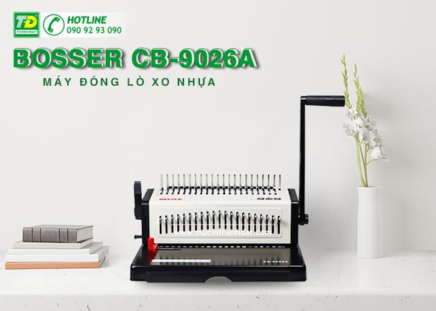 Máy Đóng Lò Xo Nhựa Bosser CB-9026A
